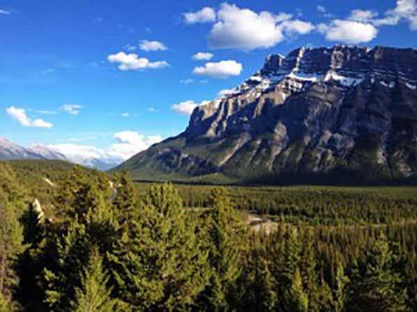 Banff Start tour divide
