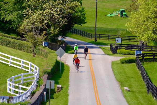 Kentucky road biking tour
