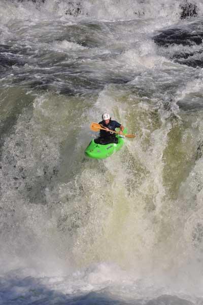 Kayaking Ohiopyle Falls