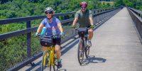 Salisbury Viaduct Cycling on the GAP