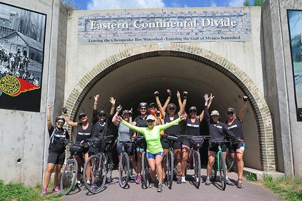 Great Allegheny Passage Bike Tour Pennsylvania Gap Rail Trail