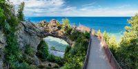 Arch Rock Mackinac Island