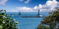 Mackinac Island and Round Island Lighthouses