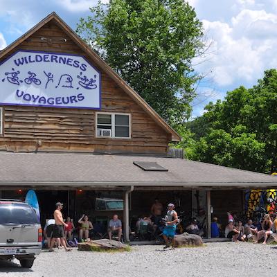 Wilderness Voyageurs ohiopyle store