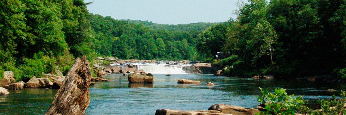 Seven Islands Cheat River